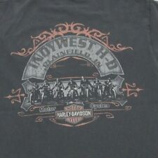 Harley-Davidson 105 Years - Indywest Plainfield IN - Black T-Shirt
