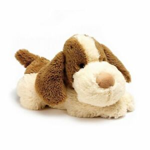 Cozy Plush Microwaveable Soft Toy Patch Puppy Soft Toy