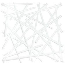 """10.71"""" H x 10.71"""" W Stixx Room Divider by Koziol (white)"""