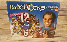 90s Kids Cool Clocks Customized Clock Making Kit Milton Bradley New Sealed 1995