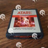 SWORDQUEST   (  Atari 2600 ) Cartridge Only - NTSC -U/C - Tested & Working