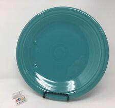 "Fiesta Turquoise Blue Dinner Plate 10 1/2"" Diameter - Nice!"