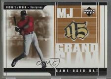 2001 Upper Deck Prospect Premieres MJ Grand Slam Bats Michael Jordan #MJ4 HOF