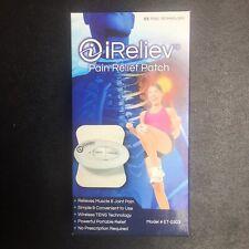 ET-0303 iReliev TENS Mini Wireless Pain Relief Patch Bundle, 30 Day Returns