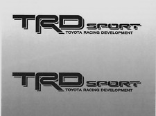 Trd Sport Decals Toyota Tacoma Racing Truck Bed Vinyl Stickers 2006-2011