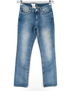 GANT Blue Carol Novel Denim Boot Cut Jeans Size W26 W27 L34