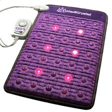 MediCrystal PEMF Photon Far InfraRed Heating Pad - Amethyst - Agate - Mini 20x32