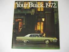 1972 Buick Deluxe Sales Brochure