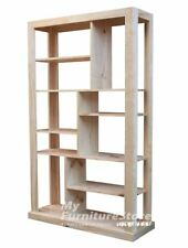 Australian  Made Solid Timber Bookshelf / Room Divider  - 2000(H) x 1000(W)