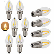 10X Retro C7 E14 LED Candle Light Bulb 2W 230V Edison LED Filament Bulb GL154