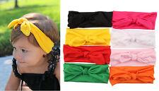 8pcs Kids Baby Girl Headscarf Headband Headwear Hair Kerchief Band Accessories