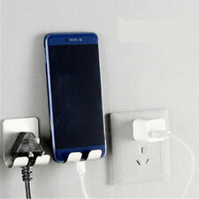 Wall Phone Holder Stand  Accessory For Mobile Phone Charging Plug Suspension