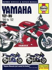 1999 2000 2001 2002 Yamaha YZF-R6 YZFR6 Haynes Repair Service Shop Manual 3106