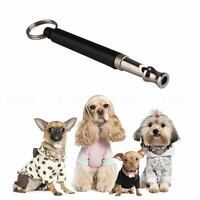 Pet Dog Puppy UltraSonic Supersonic Sound Pitch Silent Command Training Whistle