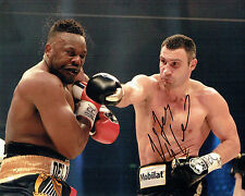 Vitali KLITSCHKO Champion Boxer Signed Photo AFTAL COA Boxing Dr Ironfist