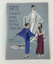 Susan Johnson Erte Fashion Dolls of the 20s Paper Dolls Paperback Book New 1978