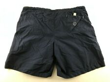 Nike Men XL Navy Blue Swim Trunks Suit Mesh Lined 100% Polyester Retro D2