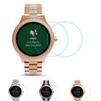 2 Pack Tempered Glass Screen Protector for Fossil Q Venture Gen 3 Smartwatch 9H