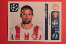 PANINI CHAMPIONS LEAGUE 2011/12 N 383 MELLBERG OLYMPIACOS BACK BACK MINT!!