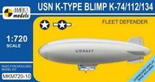 Mark I Models 1:720 USN K-Type Fleet Defender Blimp K74/112/134 Plastic Model Ki