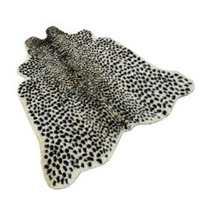 Leopard Hide Animal Printed Cow Dear Zebra Faux Fur Rug Mat Carpet Home Decor