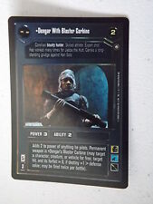 Star Wars CCG - Reflections II -  DS FOIL - Dengar with Blaster Carbine