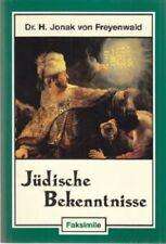 Jüdische Bekennnisse aus allen Zeiten und Ländern. Hans Freyenwald, Deutsch