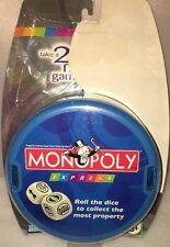 New Monopoly Express Game Roll The Dice To Collect The Most Property Parker Bros