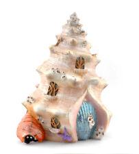 Miniature Dollhouse FAIRY GARDEN - Sea Shell Shanty - Accessories
