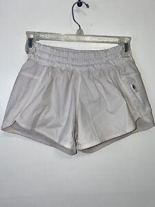 Lululemon Hotty Hot Short Size 4 ivory Shorts
