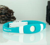 Authentic Pur life Negative Ion Bracelet EXTREME Pro Turquoise  Purlife BALANCE