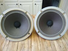 """Vintage 8"""" Alnico woofer pair / Fit Lafayette Criterion 50A /Great for tube amps"""