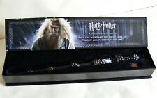Harry Potter Noble Dumbledore Wand with Light Up Tip Complete with Key In Box