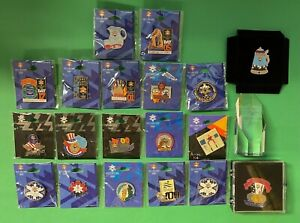 LOT OF (19) 2002 SALT LAKE CITY WINTER OLYMPICS PIN COLLECTION USA UNITED STATES