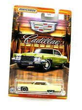 Matchbox 1969 Cadillac Sedan DeVille vanillegelb 1:64