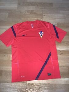 Kroatien HNS Training Trikot - Gr. L - rot - TOP Zustand - Rarität!
