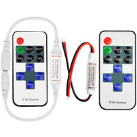 Wireless RF Remote Controller Dimmer Control For Single Color LED Strip 12V 6A