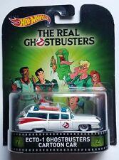 HOT WHEELS 1:64 Retro Entertainment Ecto-1 The Real Ghostbusters Cartoon Car