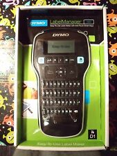 DYMO LabelManager 160 TAPE LABEL MAKER PRINTER D160 LM NIB ONE TOUCH PORTABLE