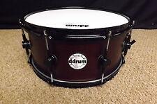 """Ddrum Reflex 14"""" Diameter Snare Drum/Alder Shell/Wine Red Satin/BRAND NEW"""