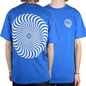 SPITFIRE WHEELS - Skateboard Tee Shirt - Large / Royal Blue / Classic