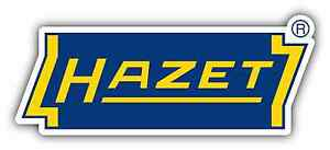 "Hazet-Werk Hazet Tools Germany Car Bumper Window Tool Box Sticker Decal 7""X2.5"""