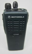 Motorola Ct250 Uhf Radio Aah34Rdc9Aa1An 403-470 Mhz Two Way Radio 4 Channel