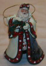 Heirloom Ornaments Christmas Journeys End Santa Thomas Kinkade Old World Santas