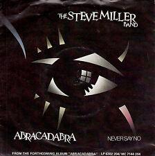 "STEVE MILLER BAND Abracadabra PICTURE SLEEVE 7"" 45 record + juke box title strip"