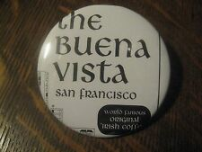 San Francisco CA USA The Buena Vista Cafe Irish Coffee Souvenir Button Pin $20