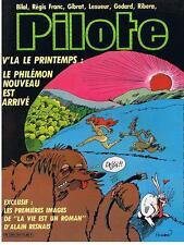PILOTE N° 107 LE PHILEMON NOUVEAU EST ARRIVE AVRIL 1983 DARGAUD TRES BON ETAT