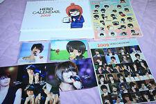 TVXQ DBSK jyj jejung jaejoong hero 2009 calendar photobook photo book sticker
