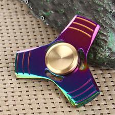 Rainbow Colors Titanium Alloy EDC Hand Fidget Spinner High Speed Focus Toy USA