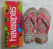 DressNStyle NWT Original HAVAIANAS Slippers Flip-Flops Tiger Print Size36 FD